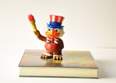 Sam the Olympic Eagle - Vintage Olympic Souvenir - Los Angeles - 1984 Summer Olympics  by thelittlebiker