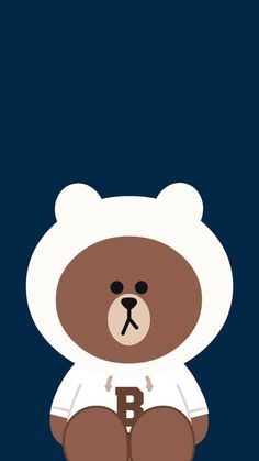 New Phone Wallpaper Cartoon Galleries Ideas Lines Wallpaper, Brown Wallpaper, Bear Wallpaper, Kawaii Wallpaper, Disney Phone Wallpaper, Friends Wallpaper, Cute Wallpaper Backgrounds, Wallpaper Iphone Cute, Cony Brown