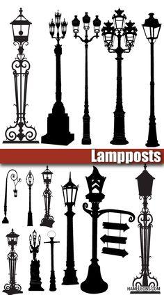 уличные фонари - Поиск в Google