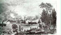 Battle of the Windmill, Prescott
