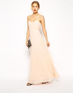 ASOS Seamed Detail Maxi Dress