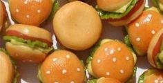 Cheeseburgers w/ The Works 4pc | Mary's Dollhouse Miniatures