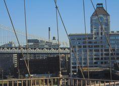 view form Brooklyn Bridge