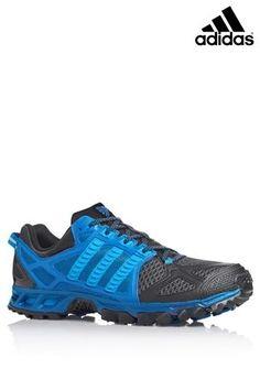 size 40 3d45a fba73 adidas BlueBlack Kanadia from Next Blue Adidas, Adidas Men, Mens Fitness,