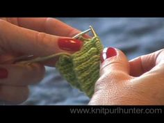 How to knit socks with what's called a short row heel :)