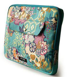 Capa para laptop Kami - azul                                                                                                                                                                                 Mais