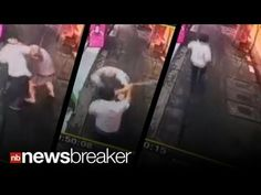 CAUGHT ON TAPE: American hacked to death with Samurai Sword over $1.60 c...