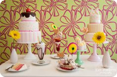 Mod ice cream parlour wedding in Brighton