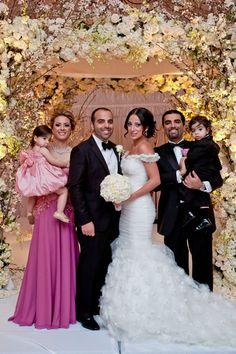 Lovella bride Sherrie in @Ines Di Santo.