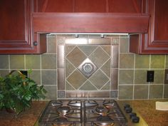 Tile Backsplash idea...