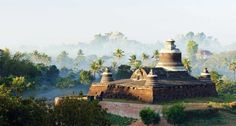 Mrauk U - Myanmar (Burma) Remote Lands' brings you the hottest places for luxury travel next year with our Dozen Dream Destinations Travel Tours, Asia Travel, Travel Ideas, Travel Guide, Mrauk U, Shwedagon Pagoda, Myanmar Travel, Fantasy Places, Top Destinations