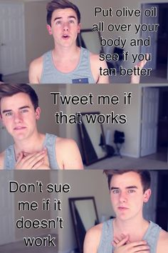 Lol Connor Franta is the bæ i promise i'll try it. might become stur fry tho LOL