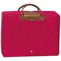 Small suitcase - Le Pliage - Luggage - Longchamp - Red garance - Longchamp United-States