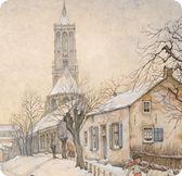 Anton Pieck- Amerongen Anton Pieck, Dutch Painters, Dutch Artists, Watercolor Sketch, Gustav Klimt, Landscape Art, Amazing Art, Netherlands, Illustrators