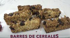Barres de céréales Krispie Treats, Rice Krispies, Granola, Cake, Brunch, Menu, Desserts, Seasonal Recipe, Raisin