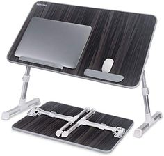 Laptop Bed Tray Table, Nearpow (Larger Size) Adjustable Laptop Bed Stand, Portable Standing Table with Foldable Legs, Foldable Lap Tablet Table for Sofa Couch Floor - Large Size Bed Tray Table, Table Reglable, Couch Table, Bed Couch, Table Portable, Bed Stand, Laptop Stand, 17 Laptop, Laptop Table For Bed
