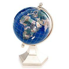 Gemstone Globes on Pinterest