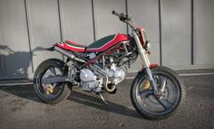 FOUNDRY MC IL CASTROLO #motorcycles #streettracker #motos | caferacerpasion.com