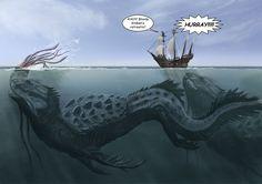 Ilustrações monstruosas, literalmente