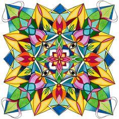 Bloom Mandala Giclee