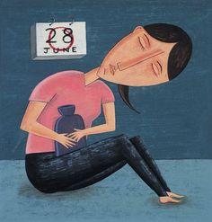 Revisa si tus #dolores menstruales son #normales: Menstruación dolorosa