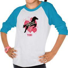 Horse Lover Personalized Toni Customized Shirt