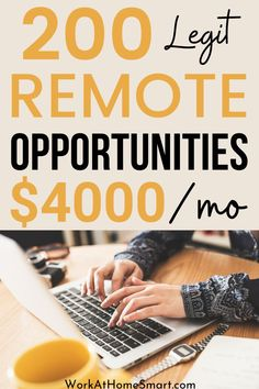 Looking for the best work-from-home jobs? If yes, here are some awesome companies hiring for remote work from home. Work From Home Companies, Online Jobs From Home, Work From Home Jobs, Companies Hiring, Remote, Awesome, Top, Work From Home Business, Crop Shirt