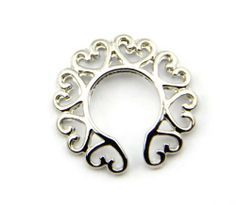 316l Surgical Steel Sexy Non-Piercing Nipple Rings Shield Clip On Heart Circle Ring Shape BodyArt. $1.89. Quality guaranteed by Bodyart. Please contact us immediately with any quality issues.. Low price, in stock for shipping from China with tracking.. This is a special designed sexy non-piercing nipple rings shield clip on heart circle ring.. Save 68% Off!