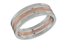 Bridged Inspired Men's Gold Ring