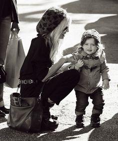 Rachel Zoe & Sky- I want to be a stylish mom like her