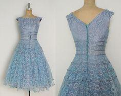 vintage-1950s-1960s-blue-lace-dress-blue