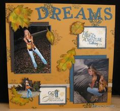 Senior Year camouflage Scrapbook Page   Have a great day and don;t forget tomorrow is Showtime at Frenchie!