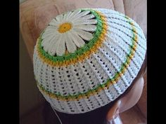 How to make crochet hat