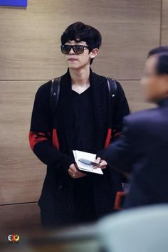 Looking cool Park Chanyeol