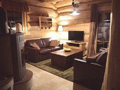 Beautiful chalet interior
