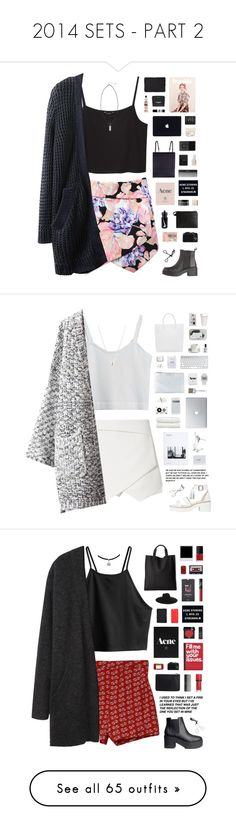 """2014 SETS - PART 2"" by c-hristinep ❤ liked on Polyvore featuring Bobbi Brown Cosmetics, Essie, Under My Roof, 3.1 Phillip Lim, CO, Prada, NIKE, L'Occitane, Acne Studios and Monki"