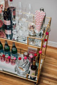 Three Bar Cart Styles with Joss & Main by Lauren Mazzei