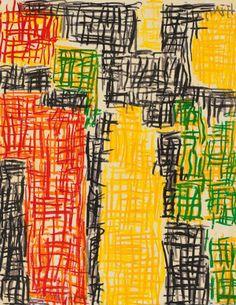 """topcat77: """"Günther Förg B.1952, German abstractionist """""""