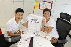 Bata Children's Program Thailand preparing for their next campaign in their local community. #corporate volunteer. #Bata