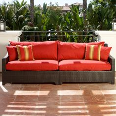 RST Outdoor Cantina Sofa - Outdoor Sofas & Loveseats at Hayneedle
