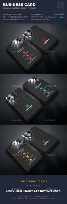 Photography Business Cards Template PSD. Download here: http://graphicriver.net/item/photography-business-cards/16526190?ref=ksioks