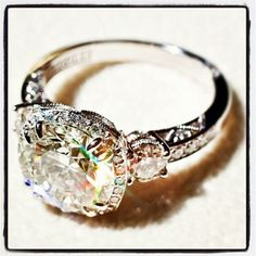 Vintage wedding ring is a must!