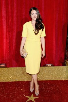 Lacey Turner attends the British Soap Awards 2016 at Hackney Empire on May 28, 2016 in London, England.