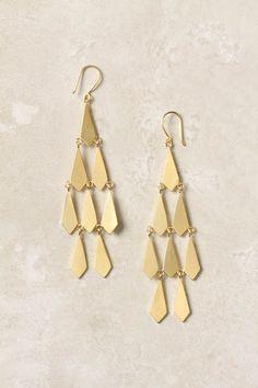 Cracked Diamond Earrings