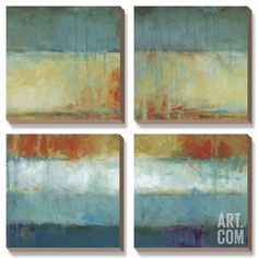 Colorblock Canvas Art Set by Wani Pasion at Art.com