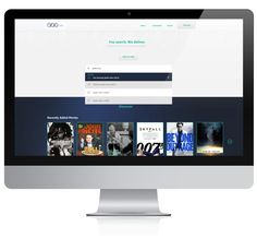 Concept for a music and video streaming website by Elena Liakou, via Behance