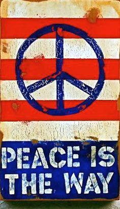 ➳➳➳☮American Hippie - Peace