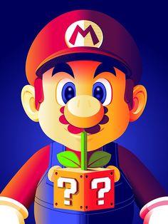 Super Mario - Created byGuillaume Morellec