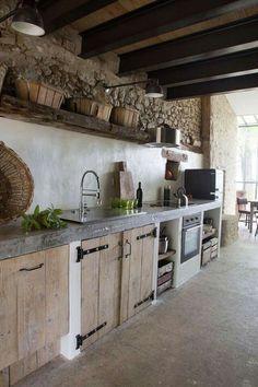 die gemauerte Küche | TRAVEL #ITALY | Pinterest | Gemauerte küche ...