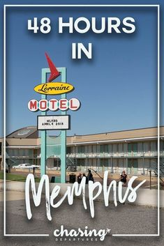 How to Spend 48 Hours in Memphis, Tennessee 48 hours in Memphis, Tennesse is just enough time to eat barbeque and find iconic moments in American history. Memphis is the birthplace of Rock How to Spend 48 Hours in Memphis, Tennessee Travel Checklist, Travel Advice, Travel Tips, Airline Travel, Travel Usa, Canada Travel, National Civil Rights Museum, Travel General, Tennessee Vacation